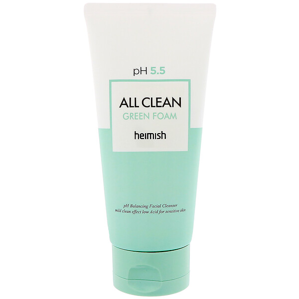 All Clean Green Foam, Cleanser, 150 g