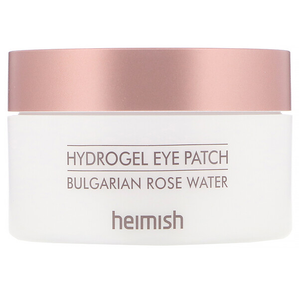 Hydrogel Eye Patch, Bulgarian Rose Water, 60 Patches