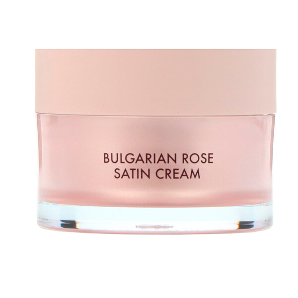 Bulgarian Rose Satin Cream, 55 ml
