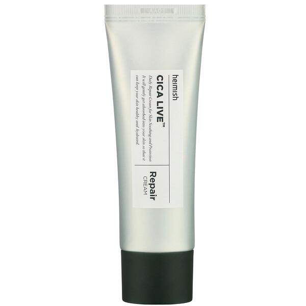Cica Live, Repair Cream, 50 ml