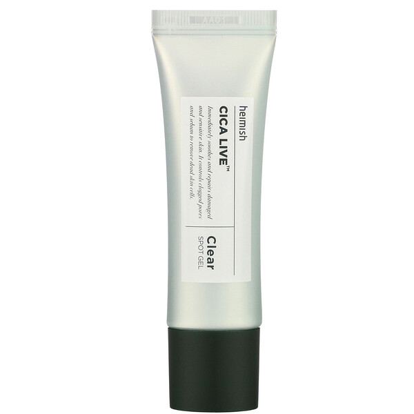 Cica Live, Clear Spot Gel, 30 ml