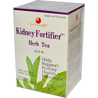 Health King, Kidney Fortifier Herb Tea, 20 Tea Bags, 1.20 oz (34 g)