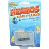 Hearos, Ear Plugs, Water Protection Series, 1 Pair w/ Free Case (Discontinued Item)