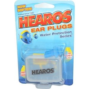 Хирос, Ear Plugs, Water Protection Series, 1 Pair w/ Free Case отзывы