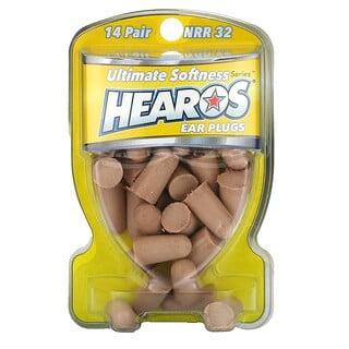 Hearos, Ear Plugs, NRR 32, 14 Pairs