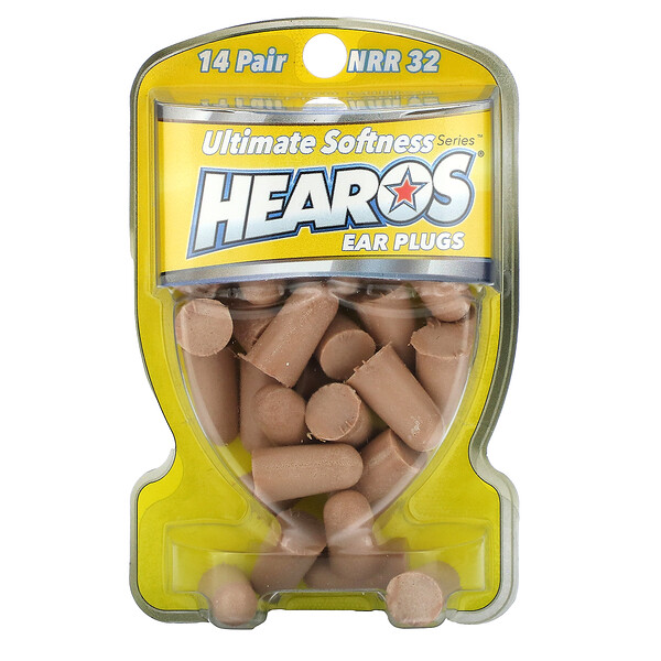 Ear Plugs, NRR 32, 14 Pairs