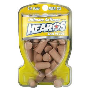 Хирос, Ear Plugs, NRR 32, 14 Pairs отзывы покупателей