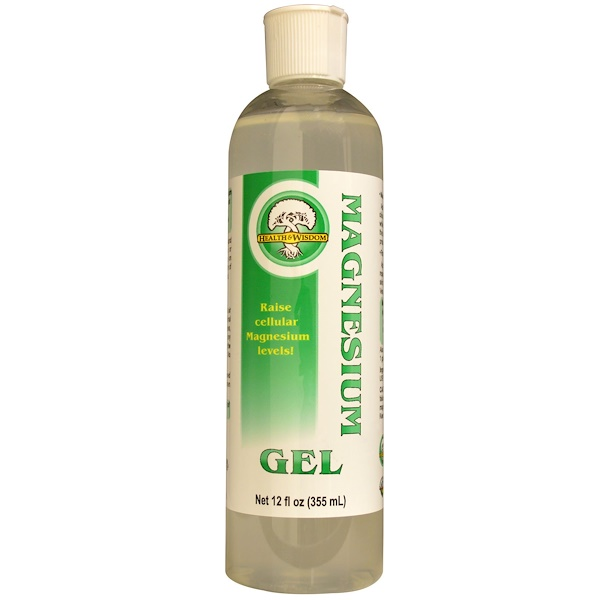 Magnesium Gel, 12 fl oz (355 ml)