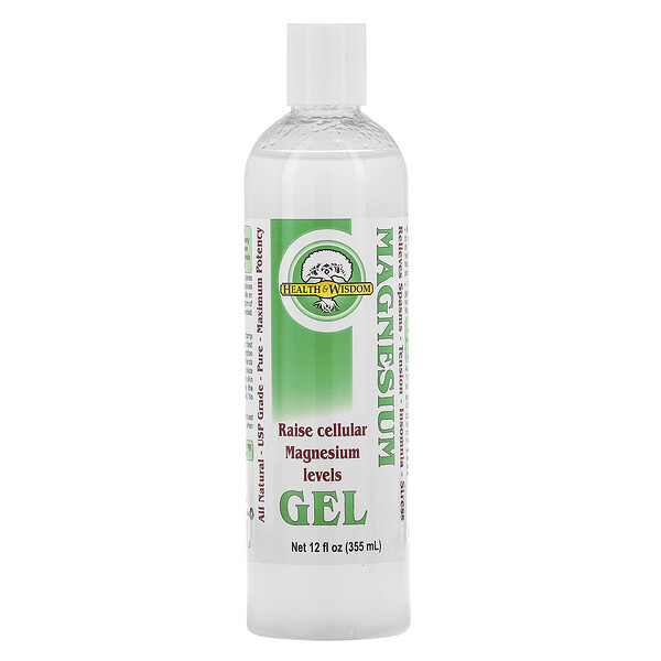 Gel de magnésium, 12 fl oz (355 ml)