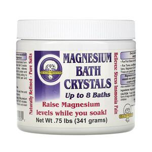 Хэлс энд Висдом Инк, Magnesium Bath Crystals, .75 lbs (341 g) отзывы