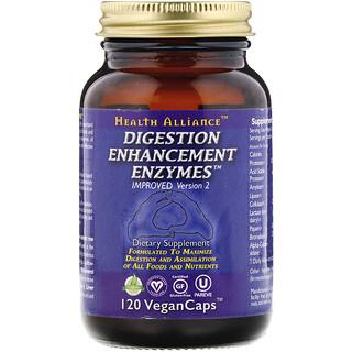 HealthForce Superfoods, Digestion Enhancement Enzymes, 120 VeganCaps