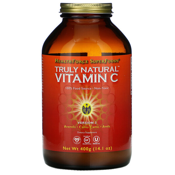Truly Natural Vitamin C, 14.1 oz (400 g)