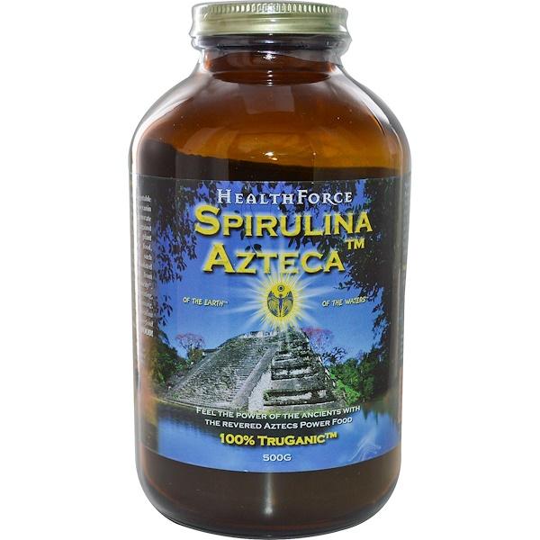 HealthForce Superfoods, Spirulina Azteca, 500 g (Discontinued Item)