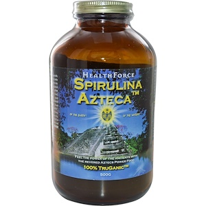 ХэлсФорс Нутришналс, Spirulina Azteca, 500 g отзывы покупателей