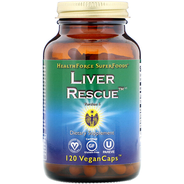 Liver Rescue, Version 6, 120 Vegan Caps