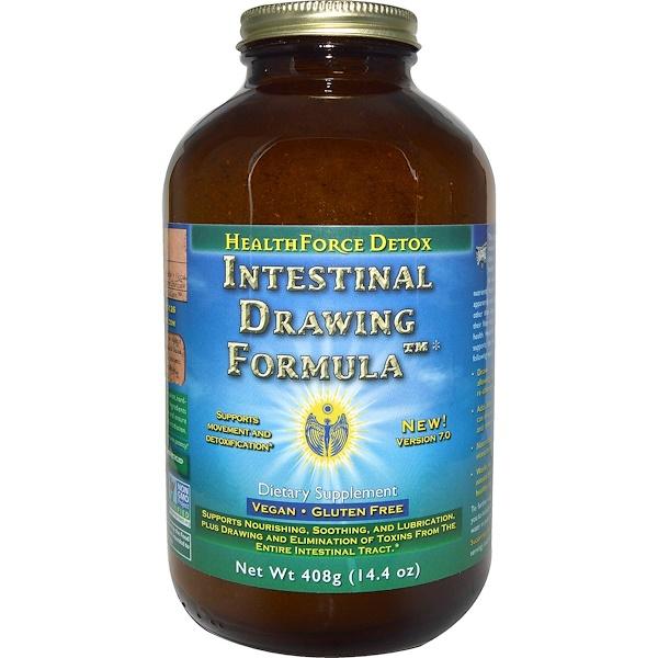 HealthForce Nutritionals, Intestinal Drawing Formula, Version 7.0, 14.4 oz (408 g)