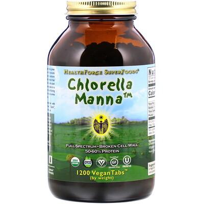 Купить Хлорелла манна, 1200 растительных таблеток