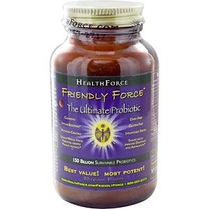 ХэлсФорс Нутришналс, Friendly Force, The Ultimate Probiotic Powder, 80 g отзывы