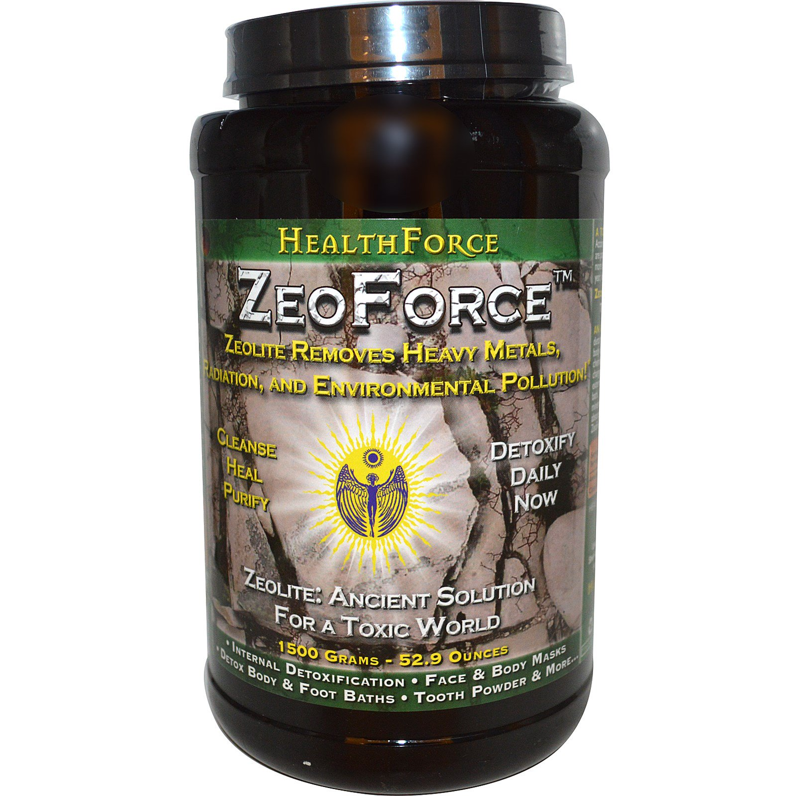 HealthForce Superfoods, ZeoForce, Detoxification, 52 9 oz (1500 g)  (Discontinued Item)