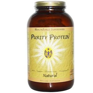 ХэлсФорс Нутришналс, Purity Protein, Natural, 17.65 oz (500 g) отзывы