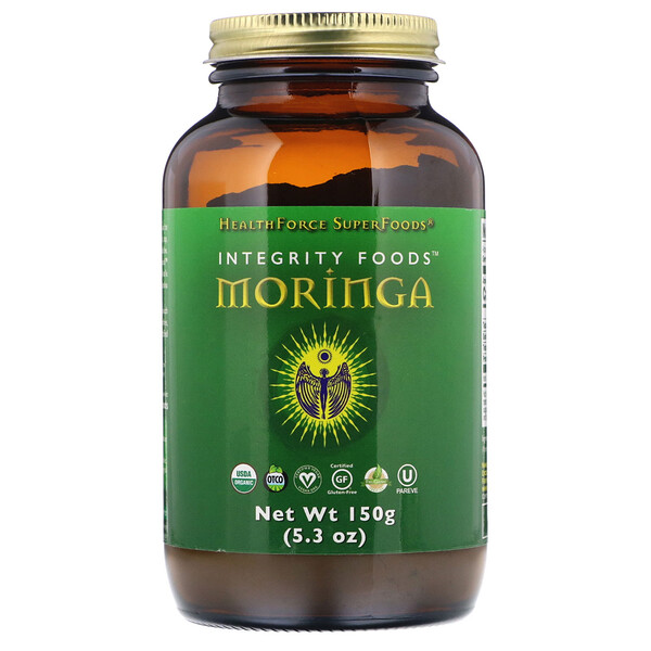 HealthForce Superfoods, Integrity Foods, moringa, 150 g (5,3 oz)
