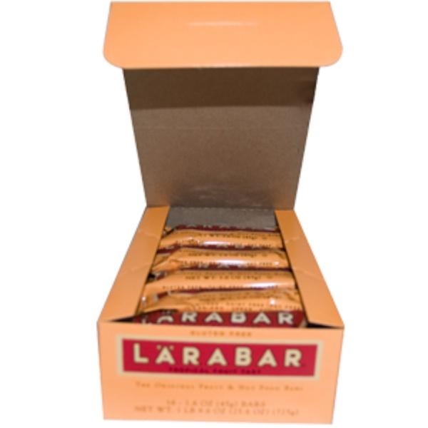 Larabar, Tropical Fruit Tart, 16 Bars, 1.6 oz (45 g) Each (Discontinued Item)