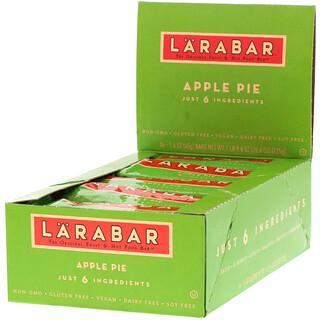 Larabar, オリジナルフルーツ&ナッツフードバー、アップルパイ、16本、各45g(1.6オンス)