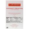 Larabar, Coconut Cream Pie, 16 Bars, 1.7 oz (48 g) Each