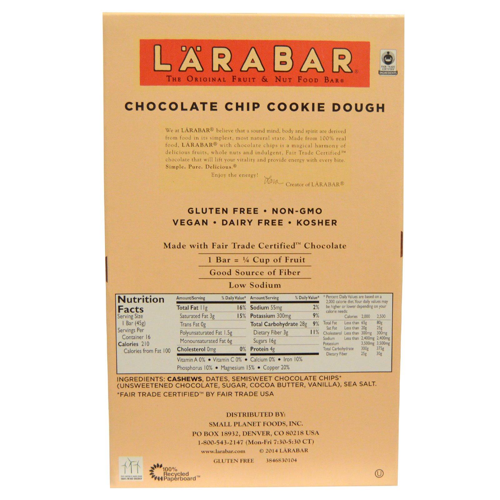 Lara Bars Ingredients