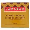 Larabar, ピーナッツバター・チョコレートチップ、5本入り、1本当たり1.6 oz (45 g)