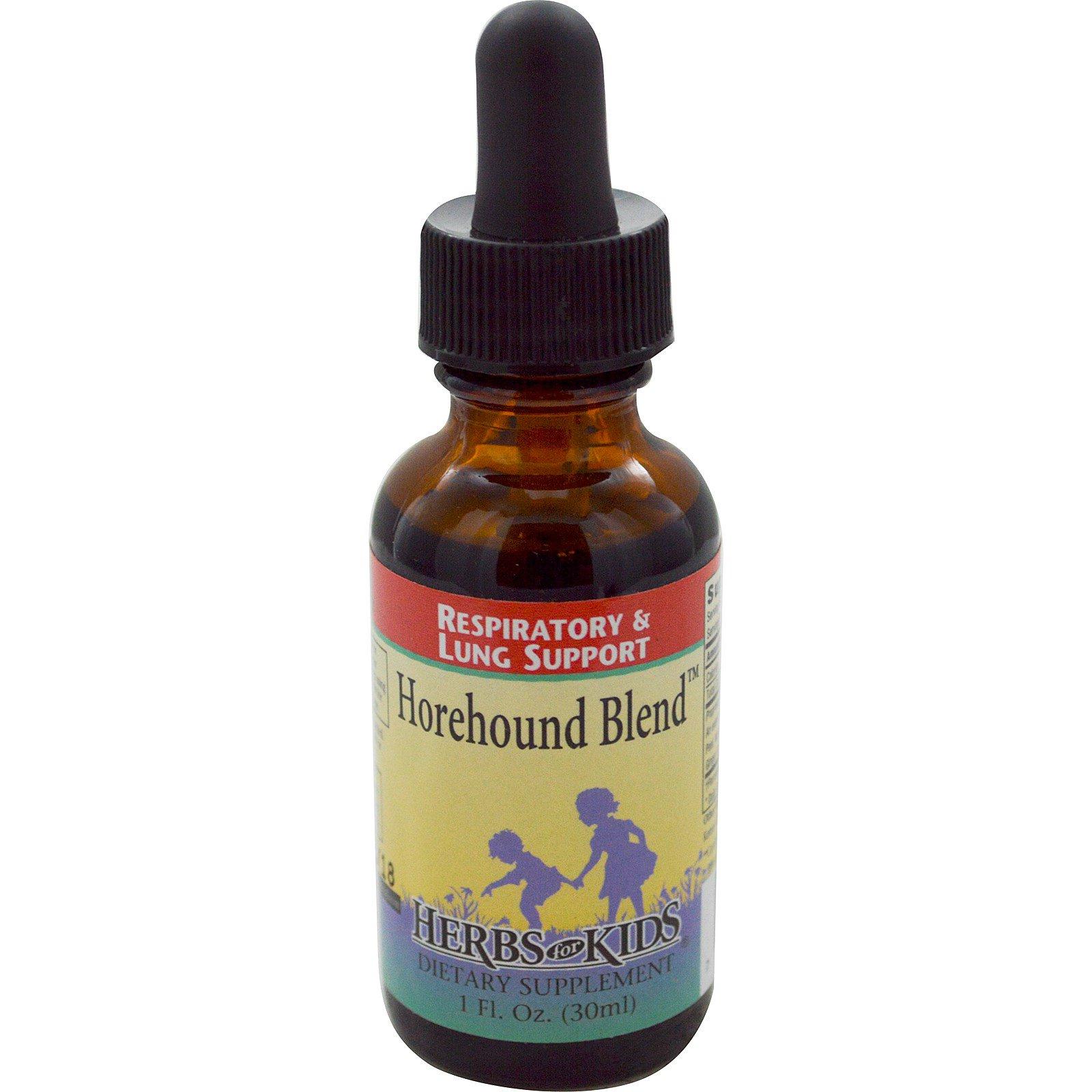 Herbs for Kids, Смесь Horehound, 1 жидкая унция (30 мл)