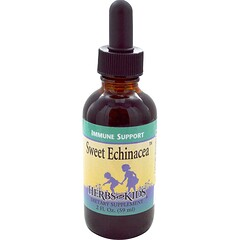Herbs for Kids, 甜紫錐花提取液,2液體盎司(59毫升)