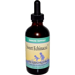 Herbs for Kids, Sweet Echinacea, 4 fl oz (120 ml)