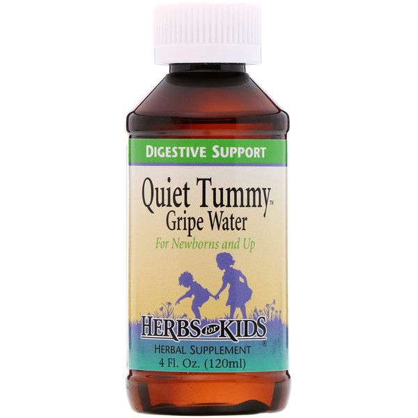 Herbs for Kids, Quiet Tummy Gripe Water, 4 fl oz (120 ml)
