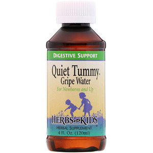Хербс фо кидс, Quiet Tummy Gripe Water, 4 fl oz (120 ml) отзывы