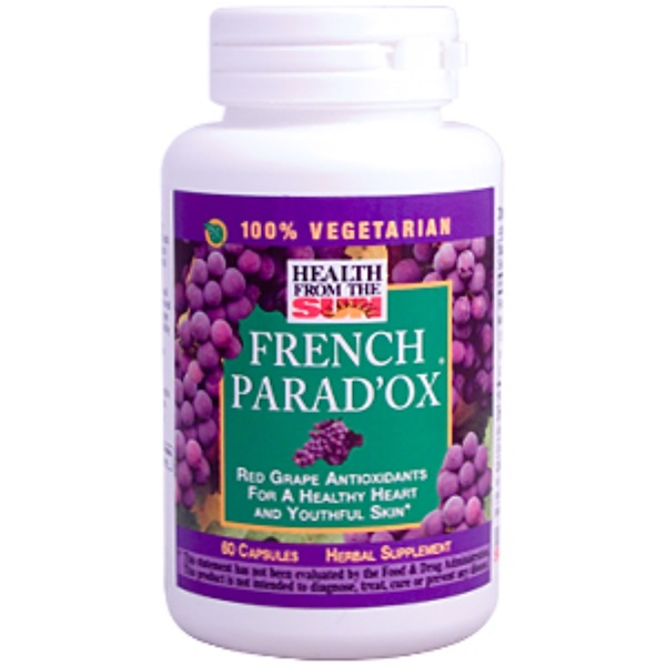 Health From The Sun, French Parad'Ox, Herbal Supplement, 60 Caps (Discontinued Item)