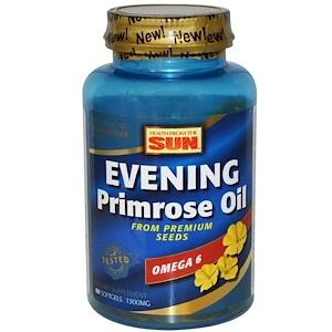 Хэлс фром де сан, Evening Primrose Oil, Omega-6, 1300 mg, 60 Softgels отзывы