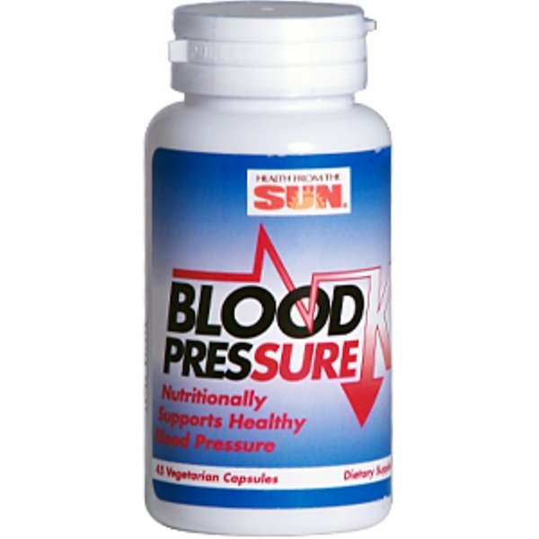 Health From The Sun, Blood Pressure K, 45 Veggie Caps (Discontinued Item)