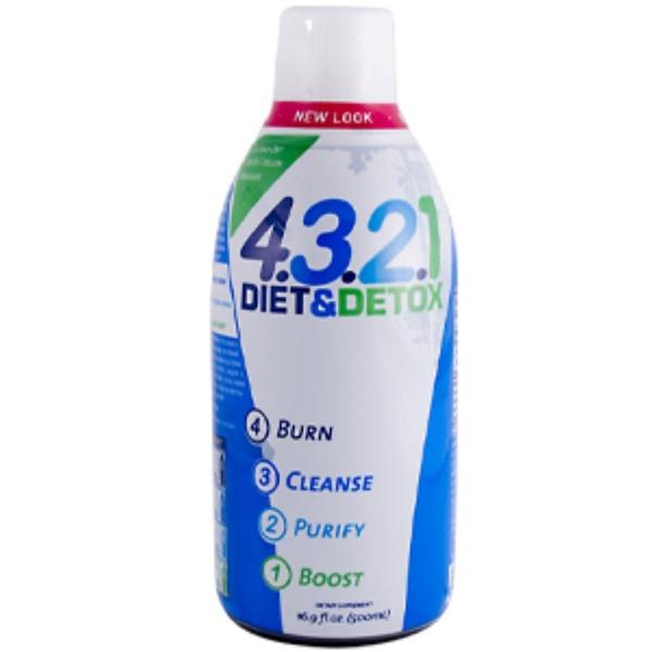 Health From The Sun, 4.3.2.1 Diet & Detox, 16.9 fl oz (500 ml) (Discontinued Item)