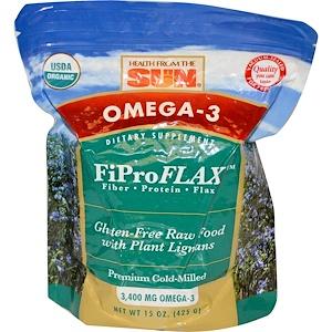 Хэлс фром де сан, Omega-3, Original FiProFlax, 15 oz (425 g) отзывы