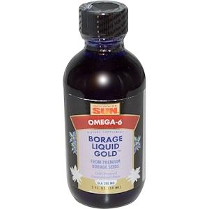 Хэлс фром де сан, Borage Liquid Gold, 2 fl oz (59 ml) отзывы покупателей