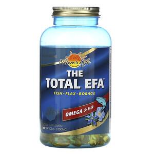 Хэлс фром де сан, The Total EFA, Omega 3-6-9, 180 Softgels отзывы