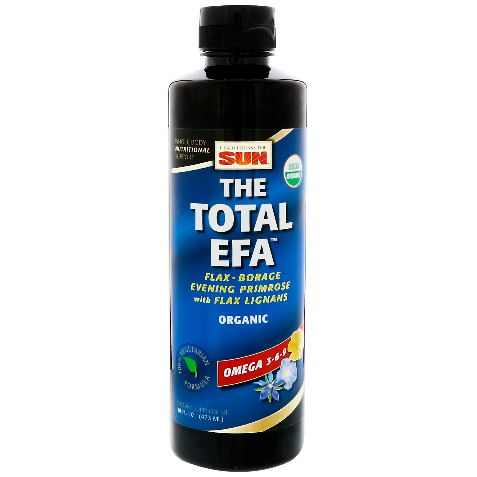 Health from the sun total efa omega 3 6 9 16 fl oz 473 for Fish oil para que sirve