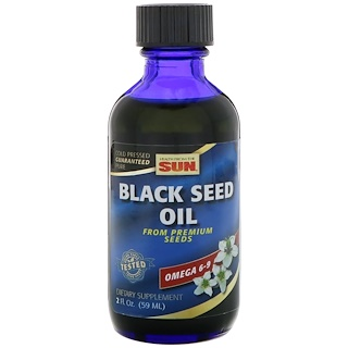Health From The Sun, Black Seed Oil, 2 fl oz (59 ml)