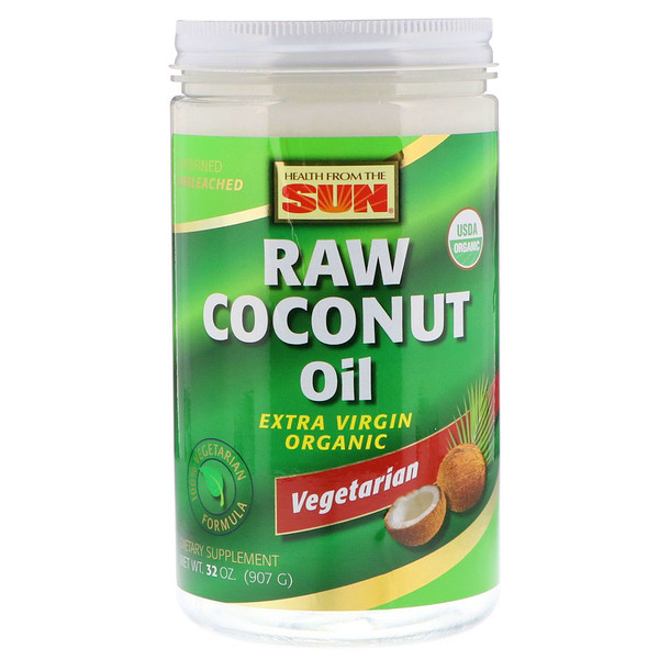 Health From The Sun, Raw Coconut Oil, 32 oz (907 g)