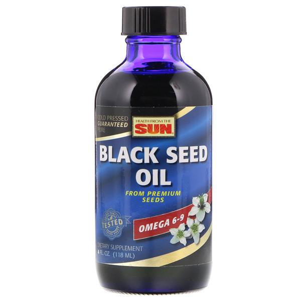 Health From The Sun, Black Seed Oil, 4 fl oz (118 ml)