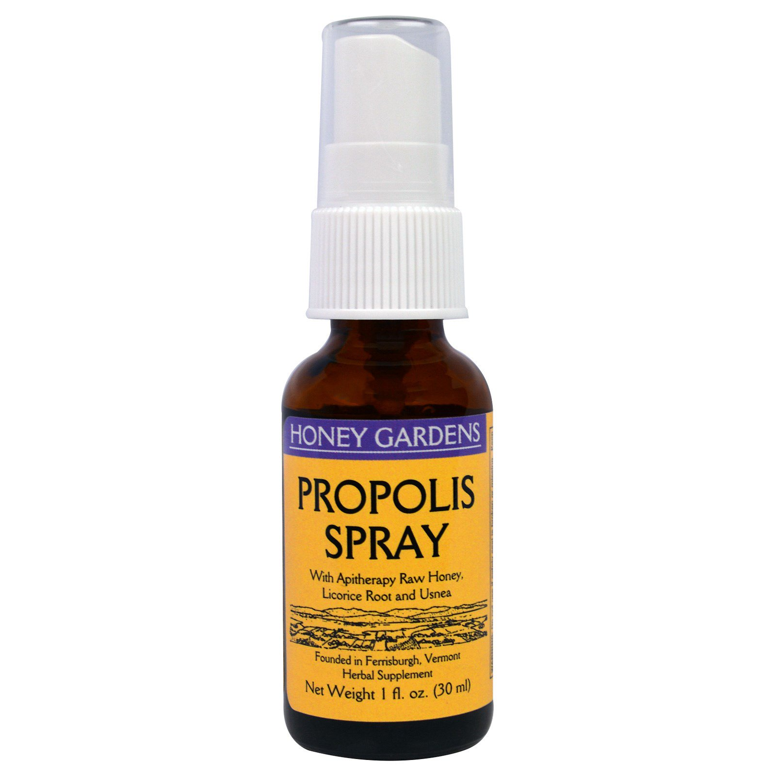 Propolis Moment Brazilian Nano Per Box5btl Honey Gardens Spray 1 Fl Oz 30 Ml