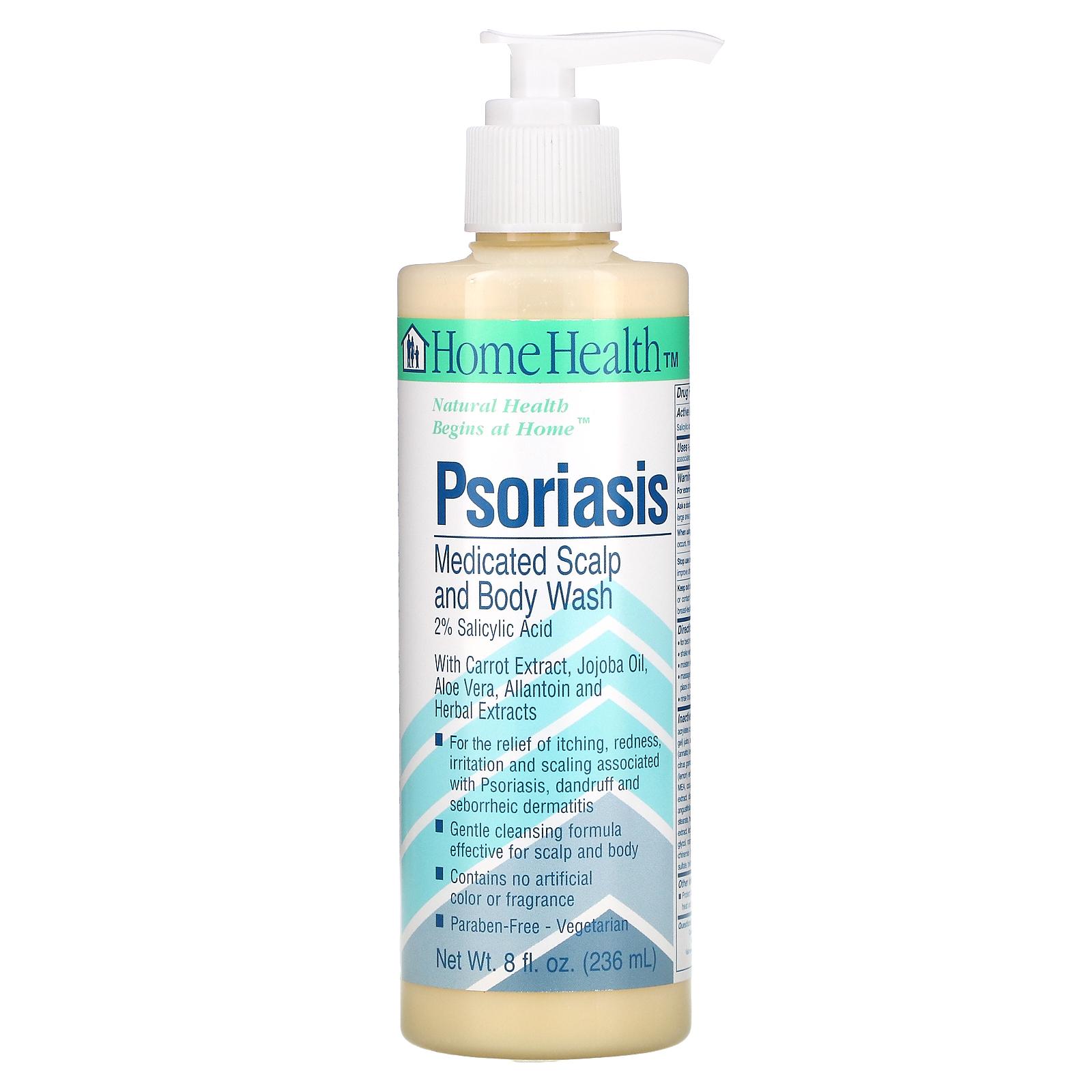 home health psoriasis scalp body wash száraz bőr és vörös foltok