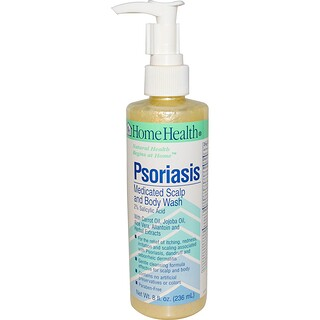 Home Health, Psoriasis, traitement du cuir chevelu et du corps, 236 ml (8 oz)