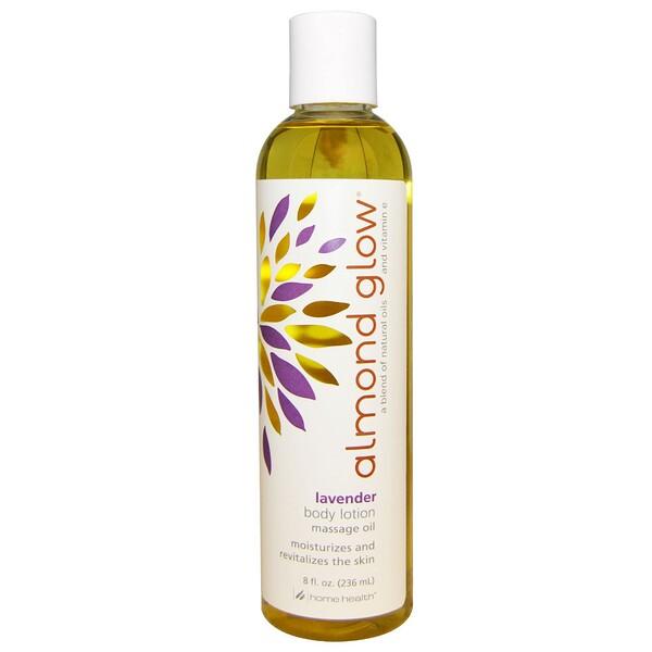 Home Health, Almond Glow, Body Lotion, Lavender, 8 fl oz (236 ml) (Discontinued Item)